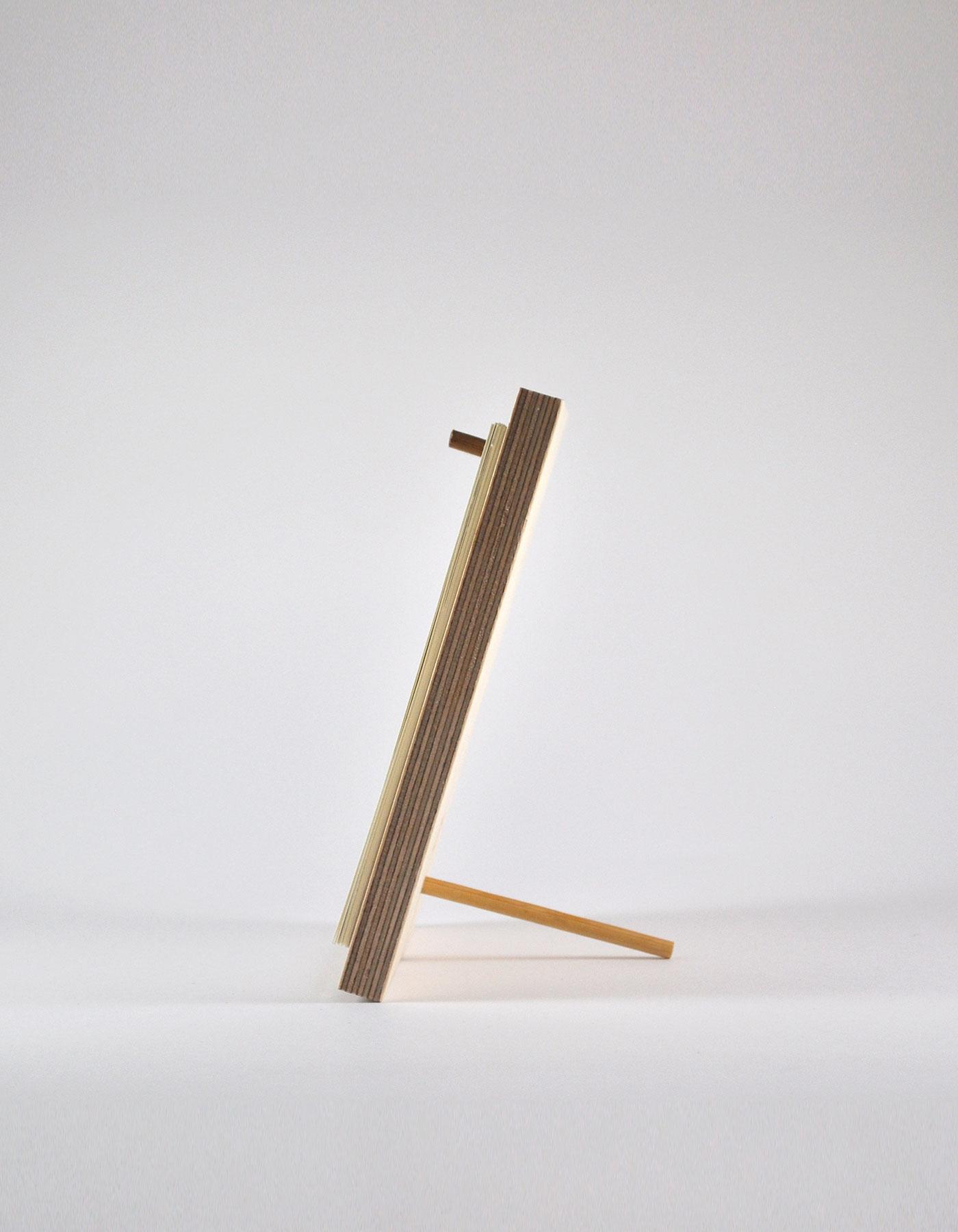 2020 Wooden Desk Calendar Amp Pencil Unsheep